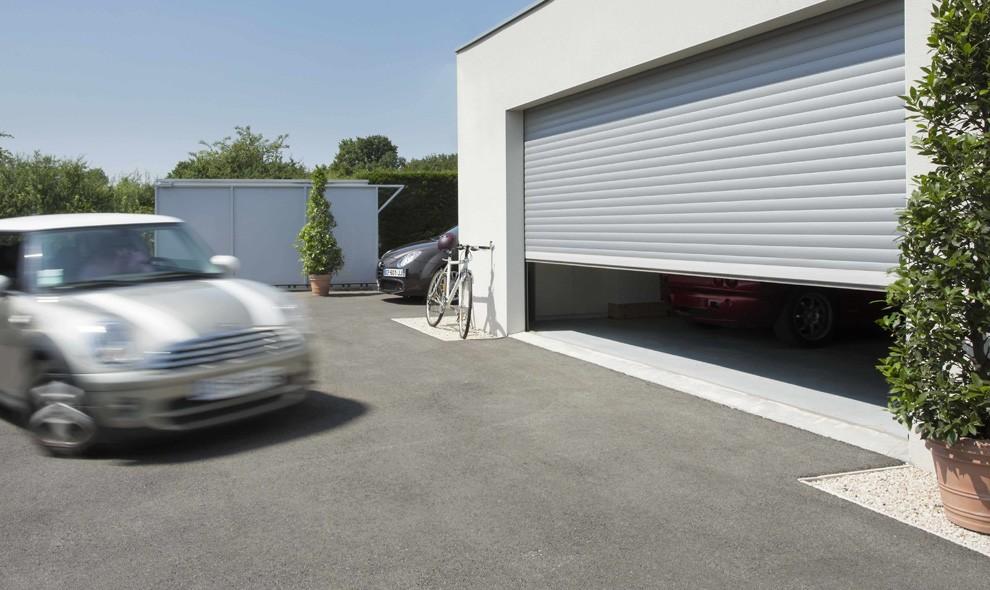 Soluzioni per motorizzare e automatizzare la porta del garage for Reglage porte garage somfy